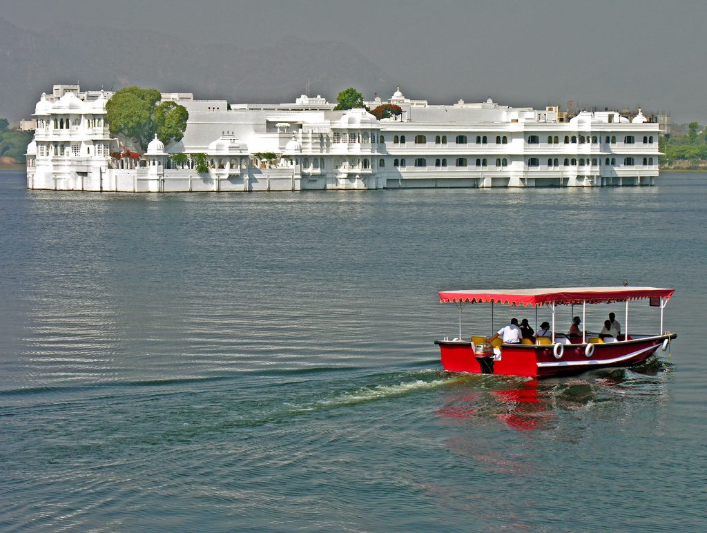 Boat ride on Lake Pichola Udaipur
