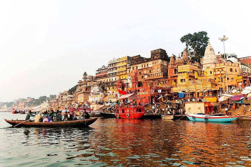 Boat Ride along the Ganges River Varanasi