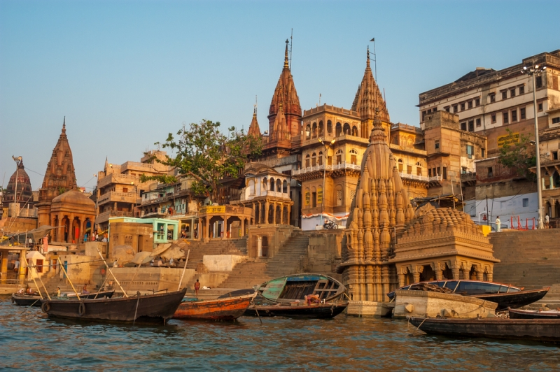 Temple in Benaras