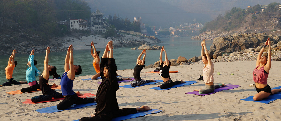 Rishikesh capital mundial del yoga